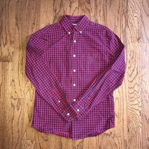 Old Navy Men's Button Down Plaid Shirt | sz S